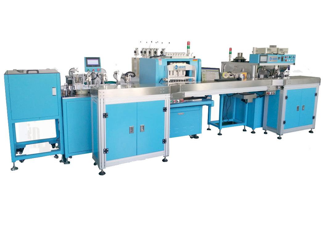 E-1000-FRHJ otomatik çoklu istasyon üretim hattı