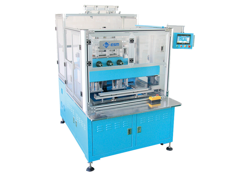 E-18404-LS  Fully automatic four axis type motor coil winding machine