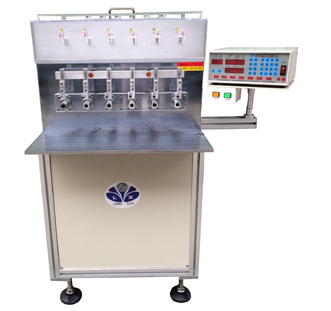 LX-1106-T Six-shaft automatic winding machine with stranded wires