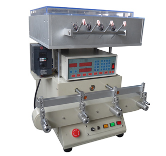 LX-1704-T Four-shaft automatic winding machine with stranded wires