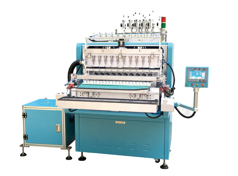 E-7010-LBCS Automatic Ten Axis Tape Winding Machine (Roller Type)