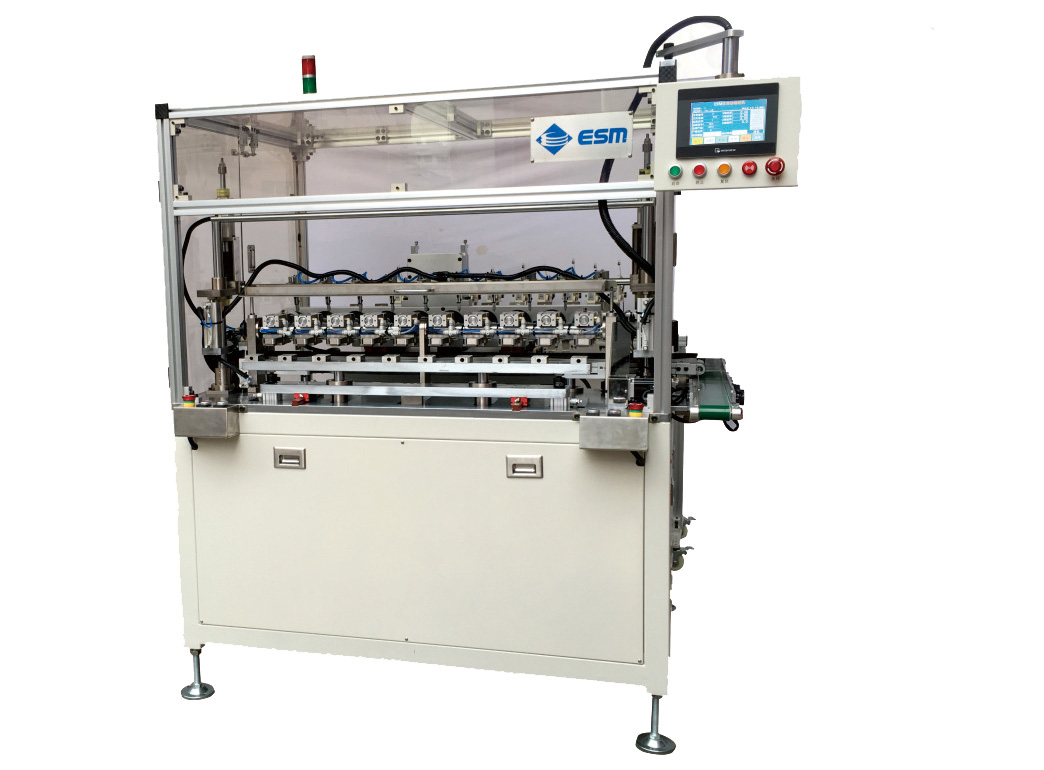 E-F1010 Automatic Ten Axis Flying Fork Winding Machine