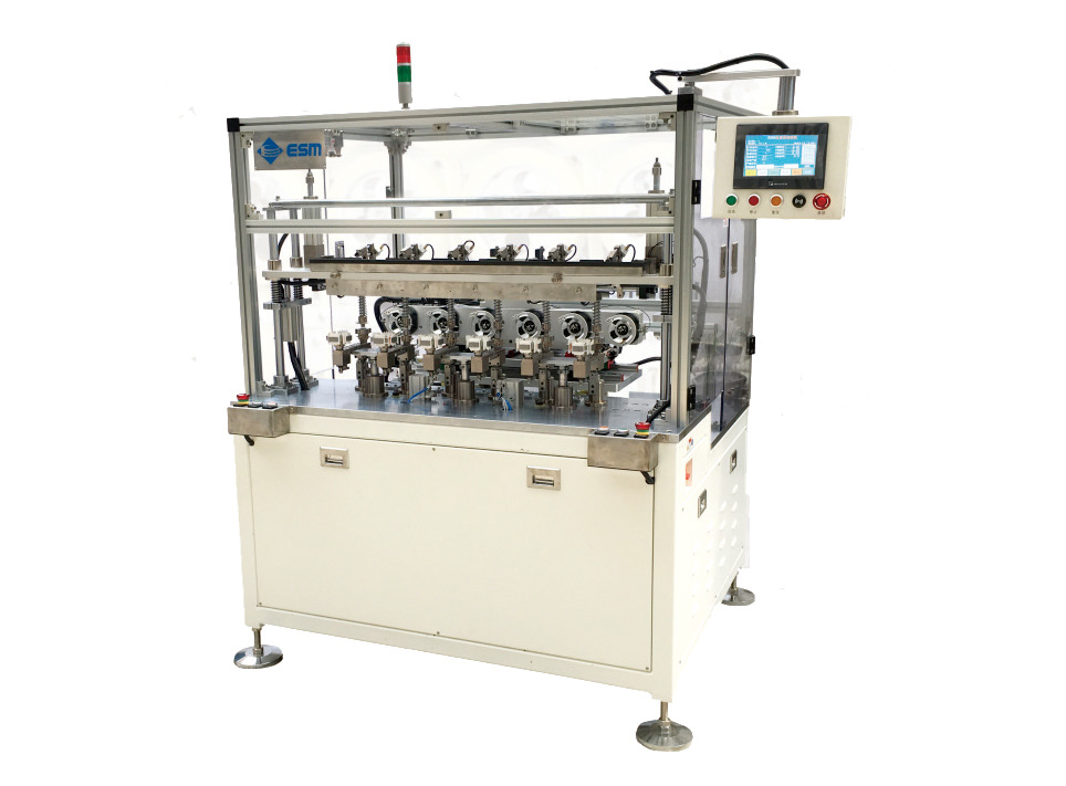 E-F1506  Automatic Six Axis Flying Fork Winding Machine